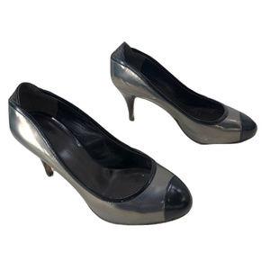 Giuseppe Zanotti Metallic Heels, Size 5.5